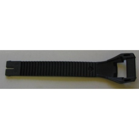 SHOT X20/X15/E20/K20/K10/ATV pracka čierna + biela plastová klipsňa 13 cm