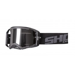 SHOT LITE šedo/čierne MX okuliare