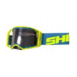 SHOT LITE modro/žlté neon MX okuliare