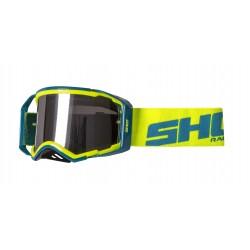 SHOT LITE žlté neon/modré MX okuliare