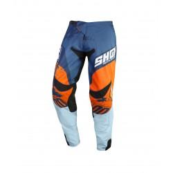 SHOT SHADOW MX nohavice modro / oranžové