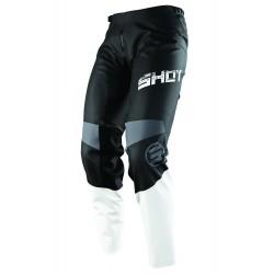 SHOT SLAM MX nohavice čierno/šedé