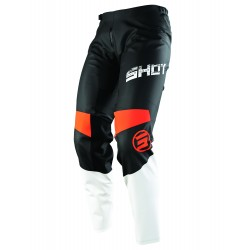 SHOT SLAM MX nohavice oranžové